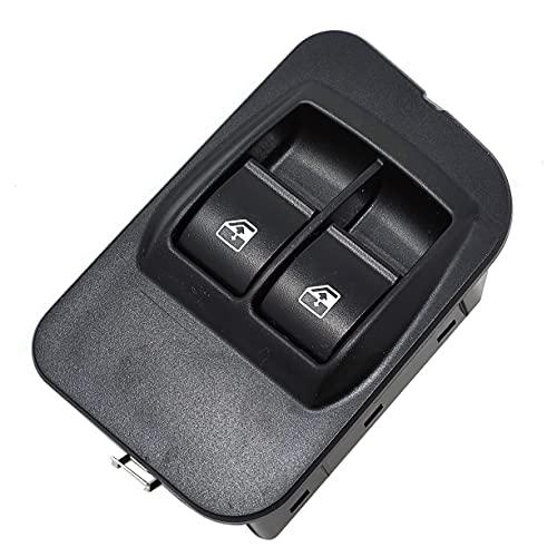 Vinciann pulsanti interruttori tasti alzacristalli al lato guida compatibile con codice OEM 6490.G8 e adatto a Fiorino III adatto a Qubo compatibile con Nemo e altri