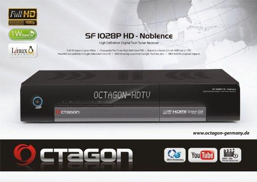 OCTAGON SF 1028p - NOBLENCE - FULL HD - 2x DVB - T2 - DVB -T