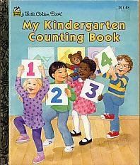 My Kindergarten Counting Book - Book  of the Little Golden Books