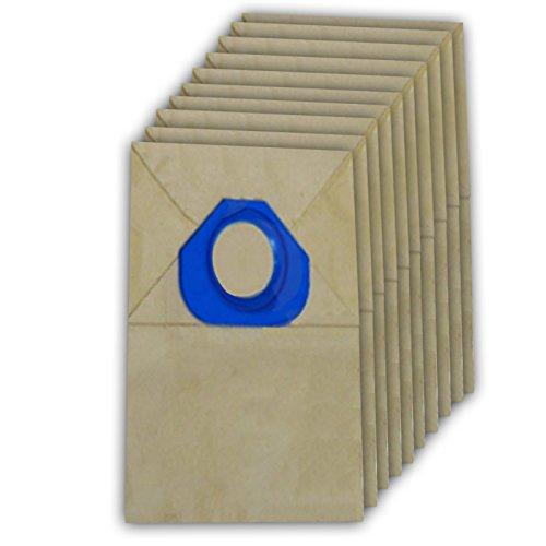 Spares2go papier Sacs à poussière pour aspirateur Nilfisk (lot de 10)