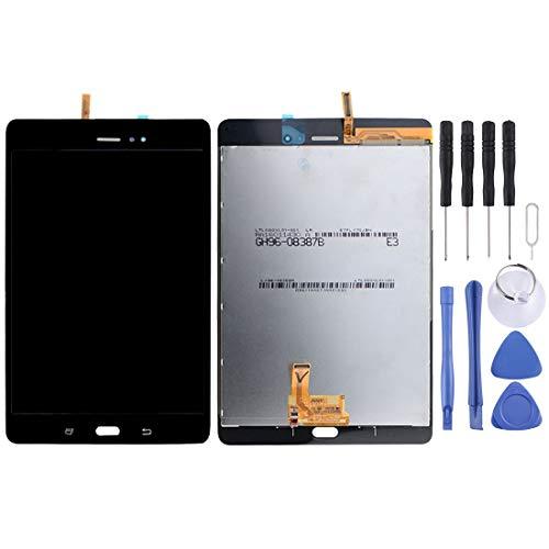 QWP Schermo Kit LCD Sostituzione dello Schermo e digitalizzatore Assemblea Completa for Galaxy Tab 8,0 / T355 (3G Version) (Nero) + Repair Tool Completa (Colore : Black)
