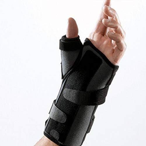 Inmovilizador de Muñeca Ligaflex Manu para mano izquierda color negro talla 4 (20,5 - 23 cm)