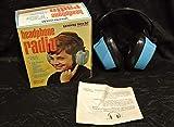 FidgetKute Audífonos de Radio 1976 Young World de Goodwin, con diseño Vintage Retro 80's - Nuevo