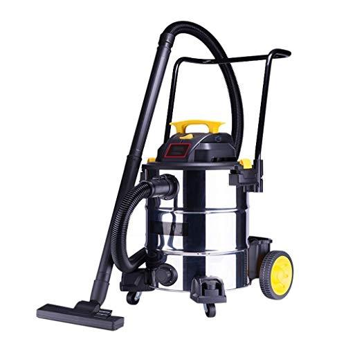 GNLIAN HUAHUA Vacuumas de Mano Trabajo sin Bolsa mojada y Seca de Vacuum Cleaner Herramienta de Bricolaje 1200W Capacidad con Accesorios (38L Wet and Dry Vac)