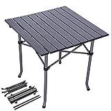 Folding chair Table Pliante de 2 Pieds, Tables de Camping Qui Se Replient Légères SZRP, Table Pliante en Aluminium Portative Extérieure, Petites Tables Pliantes pour Petits Espaces 2 Pi X 3 Pi