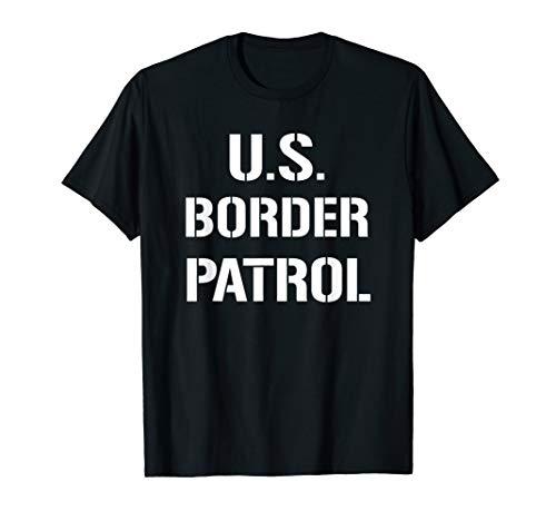 US Border Patrol Customs Immigration Halloween Costume T-Shirt
