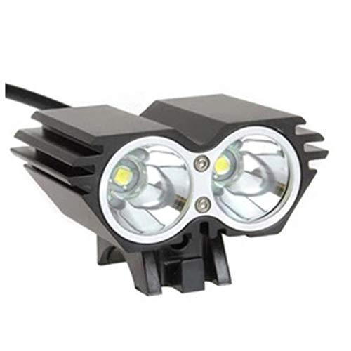 Fahrrad-licht-set, Super Bright Wiederaufladbare Fahrradbeleuchtung Mit 3 Lampes Fahrradlampe Und Sicheres Rücklicht, Anti-glare Strahl, Fahrradbeleuchtung Beste Wahl Für Sie