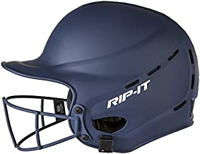 Rip-It Vision Pro Matte Softball Batting Helmet (Matte Navy, Medium/Large)