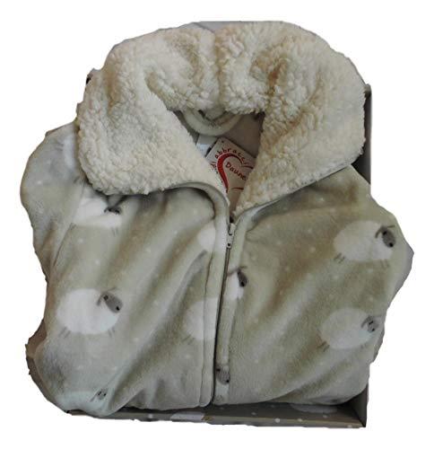 Daunex Morbidotto Vestaglia disegno SHEEP colore NATURALE taglia S