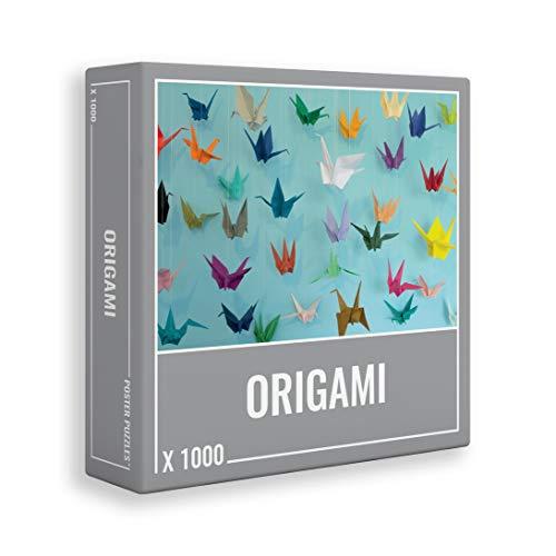 Origami - ¡genial rompecabezas de 1000 piezas para adultos!