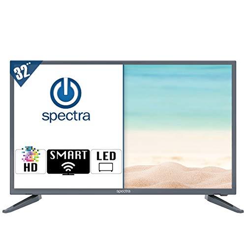 """Spec TV 32P18SM Pantalla Smart TV WiFi LED 32"""", HD, HDMI USB, Color Negro 2020"""