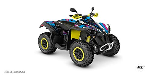 Kit Deco Quad Can-AM Renegade Masai, Blau
