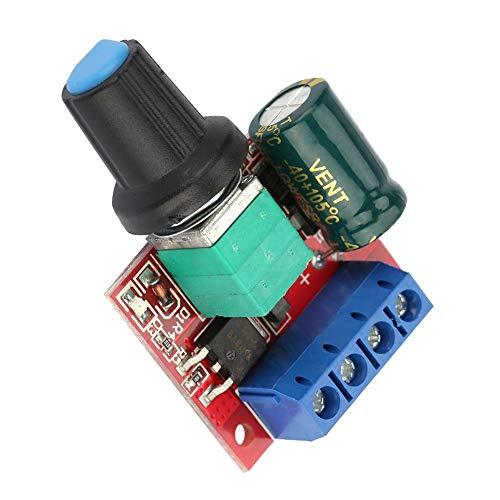 Regulador de Voltaje Ajustable, Interruptor del Controlador del Motor, Controlador de Velocidad del Motor DC 5V-28V 5A PWM, Controlador del Interruptor, Regulador de Voltaje LED Dimmer