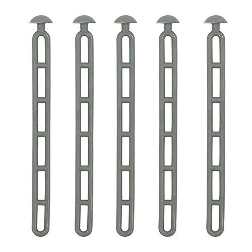 PRO PLUS tendeur d'escalier avec Bouton 23,5 cm Jeu de 5 pièces en Caoutchouc