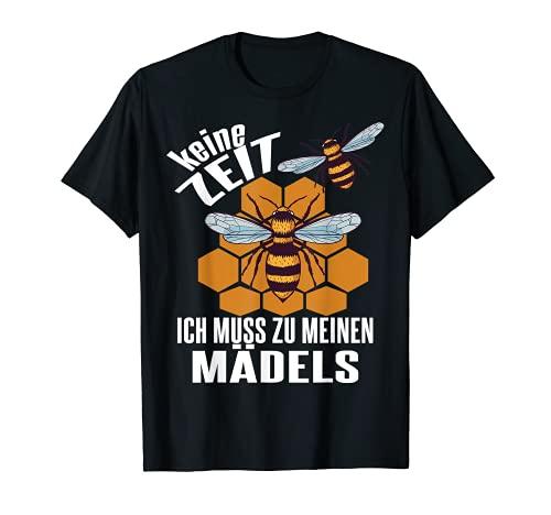 Vatertag Bienen Hummel Wildbiene Honigbiene Drohnen Biene T-Shirt