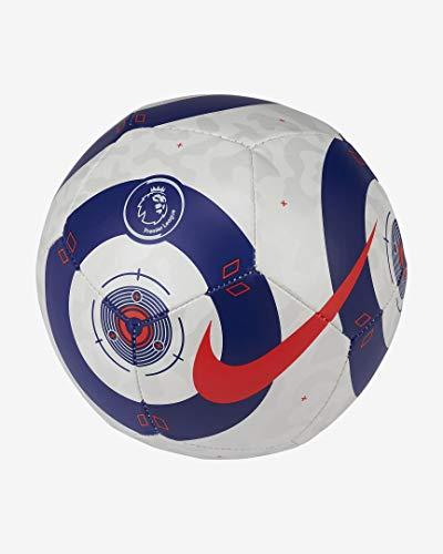 NIKE Pl Nk Skls Recreational Soccer Ball, Unisex-Adult, White Blue (Laser Crimson), Talla única