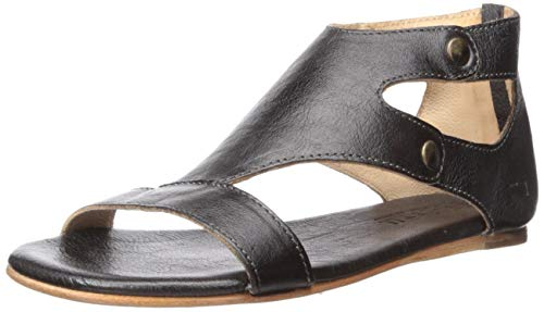 BED STU Women's Soto Dress Sandal, Black Rustic, 9 M US