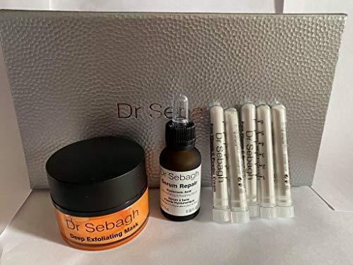 Dr Sebagh Vitamin C Gift Set (Exfoliating Mask, Serum Repair, Vitamin C Powder Cream), WORTH £213!