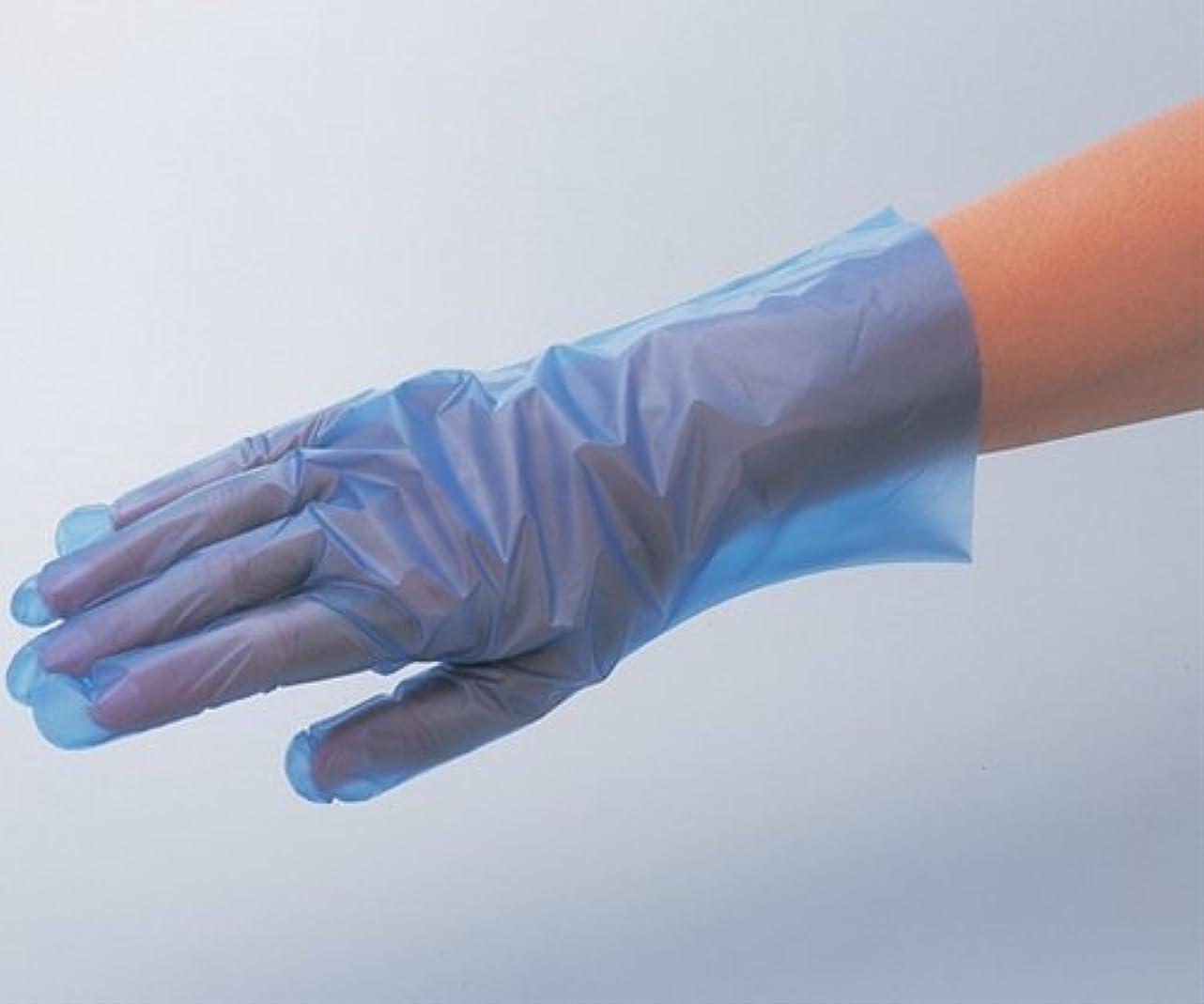 始める代表する知り合いサニーノール手袋エコロジー L ブルー 1箱(200枚入)