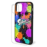 Spla-toon iPhone 11 Case Cover, Drop Protection TPU Soft Silicone + Tempered Glass Shell for iPhone 11/pro/pro Max