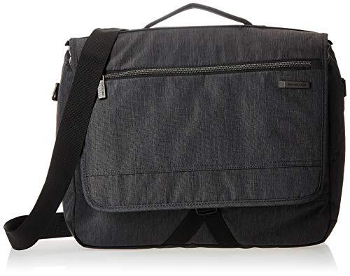 Samsonite Modern Utility Laptop Messenger Bag, Charcoal Heather, One Size