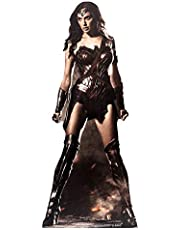 DC Comics Wonder Woman (GAL Gadot) Vida tamaño de cartón Recorte out, Multi Color