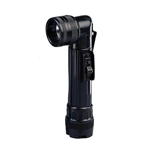 Rothco Army Style C-Cell Angle-Head Flashlight - Black