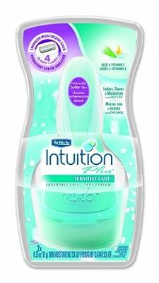 Schick Intuition Plus Shaving