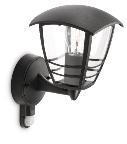 Philips myGarden Creek - Aplique de pared con sensor de movimiento, iluminación...