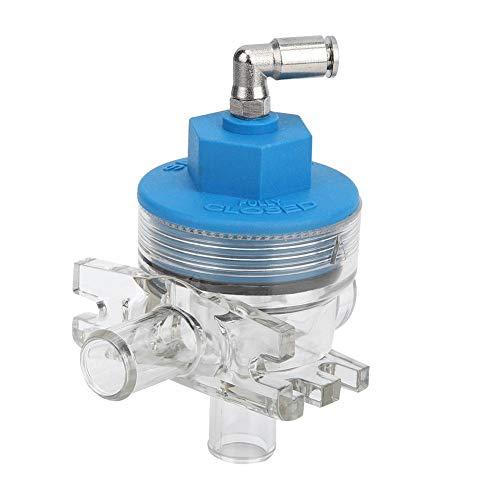 Furnoor Vakuum-Absperrventil 5/8 Vakuum-Absperrventil für Digitale elektrische Milchmesser für Rinder Schafe (Überdruck)