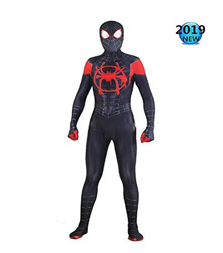 Spiderman Kostuum voor Jongens Cosplay Kostuum Kinderen Volwassen Halloween Kerst Kostuum Verwijderbare Masker Mannen Bodysuit Party Outfit S Kids