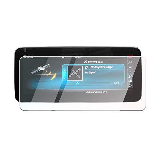 CDEFG Protector de pantalla para Mercedes Benz Clase C W205, cristal templado 9H, resistente a arañazos y antihuellas, 10,25 pulgadas, GPS, transparente