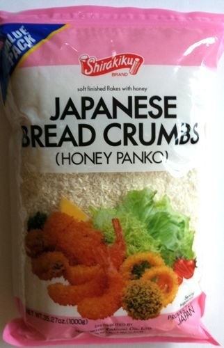 Shirakiku Honey Panko Japanese Bread Crumbs 2.2 Pounds