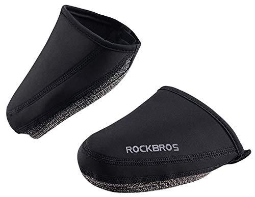 ROCKBROS(ロックブロス)自転車 シューズカバー 防寒 防風 トゥカバー ロードバイク 靴カバー 耐摩耗 ウィン...