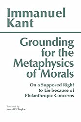 Grounding for the Metaphysics of Morals Book Cover