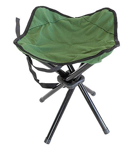Premium hoogwaardige vouwstoel, visstoel, campingstoel met 4 poten, bijzonder stabiel, inklapbaar, compact