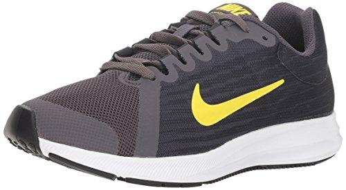 Nike Downshifter 8 (GS), Zapatillas de Running Niños, Gris (Thunder Grey/Dynamic Yellow-Oil Grey 008), 36.5 EU