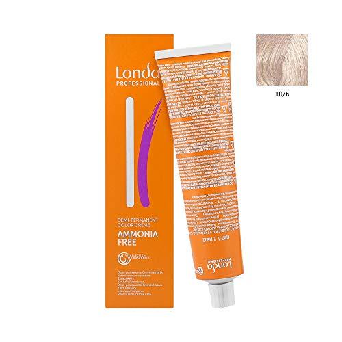 Londa Professional Haarfarben & Tönungen Londacolor Demi-Permanente Cremehaarfarbe 10/6 60 ml