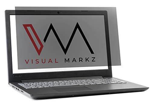 "Visual Markz Laptop Privacy Filter | Notebook Blickschutzfilter 15.6"" | Anti-Spy Sichtschutzfilter | Privacy-Screen | Blickschutzfolie | Sichtschutzfolie | Abnehmbar | Wiederverwendbar | 15,6 Zoll"