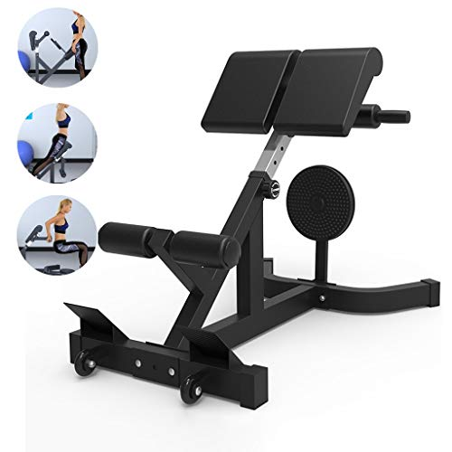 Adjustable Benches Dumbbell Stool Professional Goat Chair Commercial Roman Chair Fitness Bench Home Sports Fitness Equipment (Color : Blue, Size : 72 * 74 * 136cm)