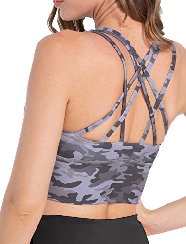 (62% OFF) Crisscross Back Sports Bra for Ladies $6.99 – Coupon Code