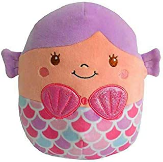 "Squishmallows~ Soft Plush Character Pillow (Denise Mermaid 16"")"