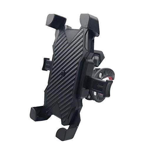 Abaodam Soporte de soporte de navegación para teléfono de motocicleta Soporte de clip de montaje para manillar
