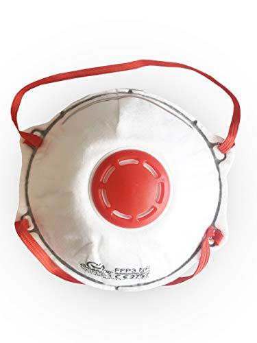 Grande Disposable FFP3/ N95 Respirator Protective Face Mask, 99% Filtration...