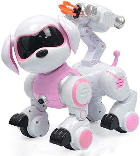 Zhangl Al aire libre Juguetes educativos, animal doméstico electrónico, perro de juguete del robot, de función tienen de Seguimiento, cantar y bailar perro electrónico mascota robot juguete inteligent