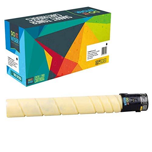 Cartuccia toner Do it wiser compatibile in sostituzione di Konica Minolta Bizhub C220 C280 C361 | TN216Y TN319Y A11G231 A11G230 (Giallo)