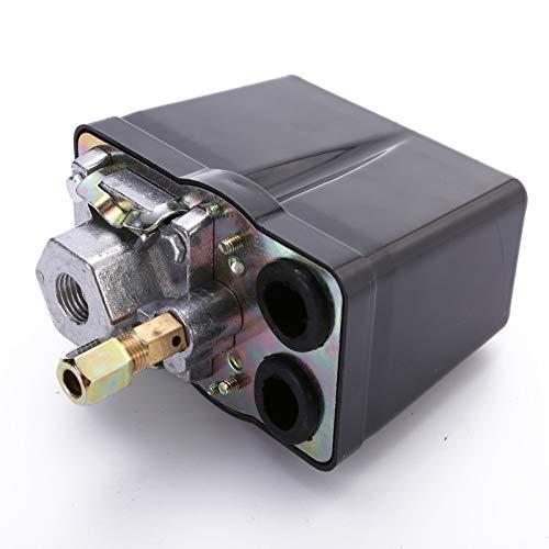 NO LOGO XW-KAIGUANS, 1pc 380V 400V 16A LuftDruckschalter Kompressor 400Ven Druckschalter 3-Phasen-Druckschalter Kompressor 400V Druckschalter Regelventil 90-120 PSI (Size : 380V 400V 16A)