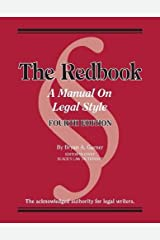 Bryan A. Garner's Redbook: A Manual on Legal Style, 4th Edition (Coursebook) Paperback