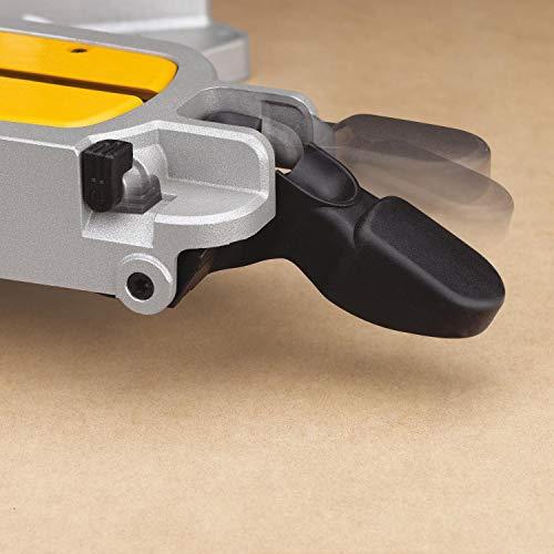 DeWalt Paneelsäge 1675W DWS780 inkl. Zubehör – Mit 305×30 mm HM-Sägeblatt ideal für den Innenausbau – Hohe Schnittkapazität & LED Schnittlinien Anzeige - 9
