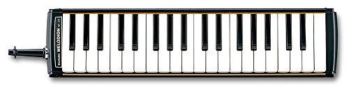 SUZUKI スズキ 鍵盤ハーモニカ メロディオン アルト 37鍵 M-37C 日本製 美しい響きの金属カバーモデル 軽量ソフトケース